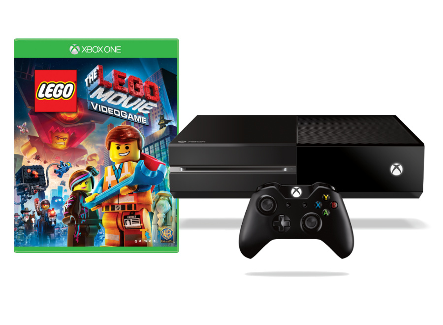 Microsoft XBOX ONE - 500GB + 1 x hra (LEGO Movie Videogame) 5C7-00180