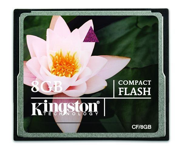 Kingston 8GB Compact Flash CF/8GB